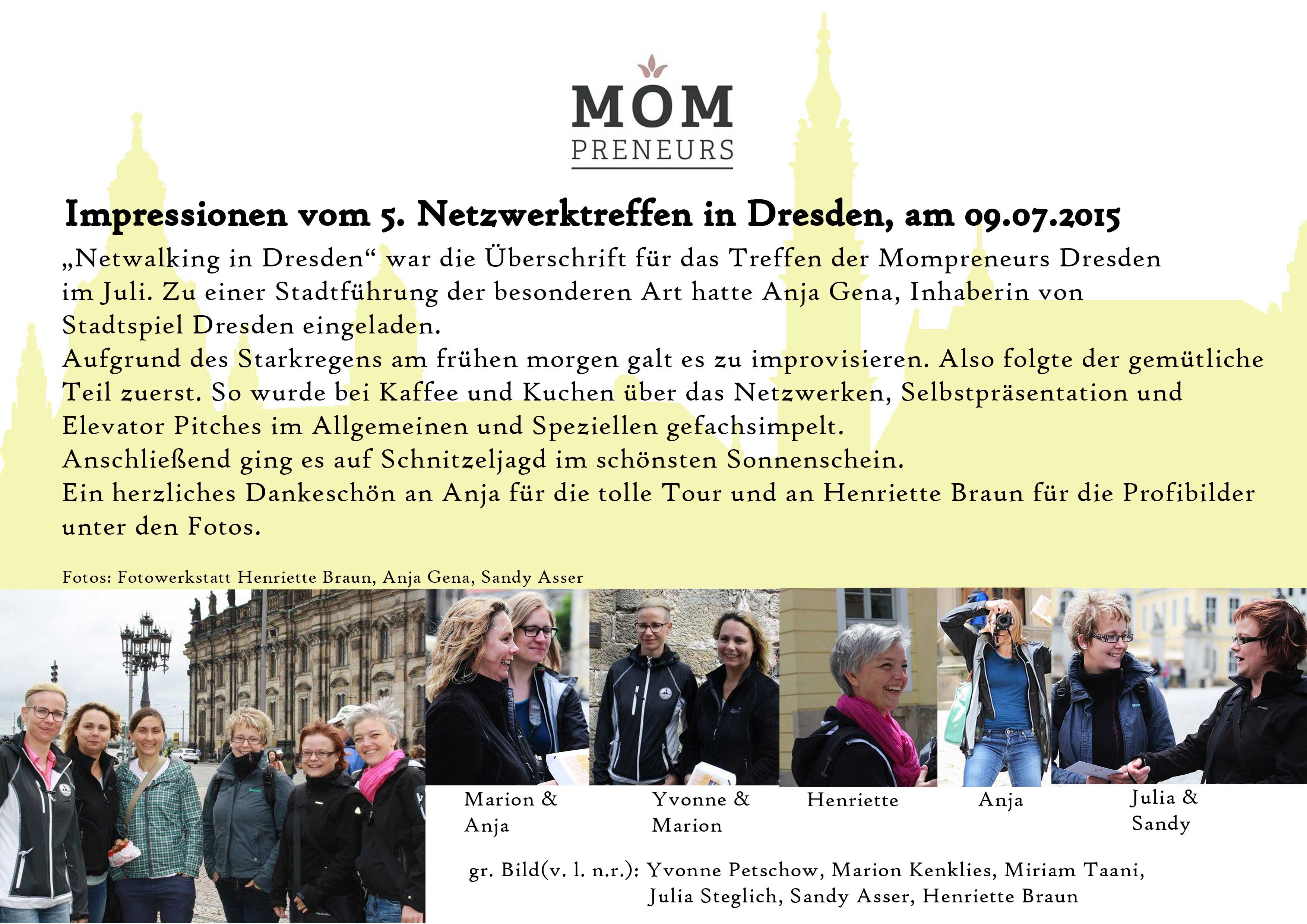 Mompreneurs Dresden