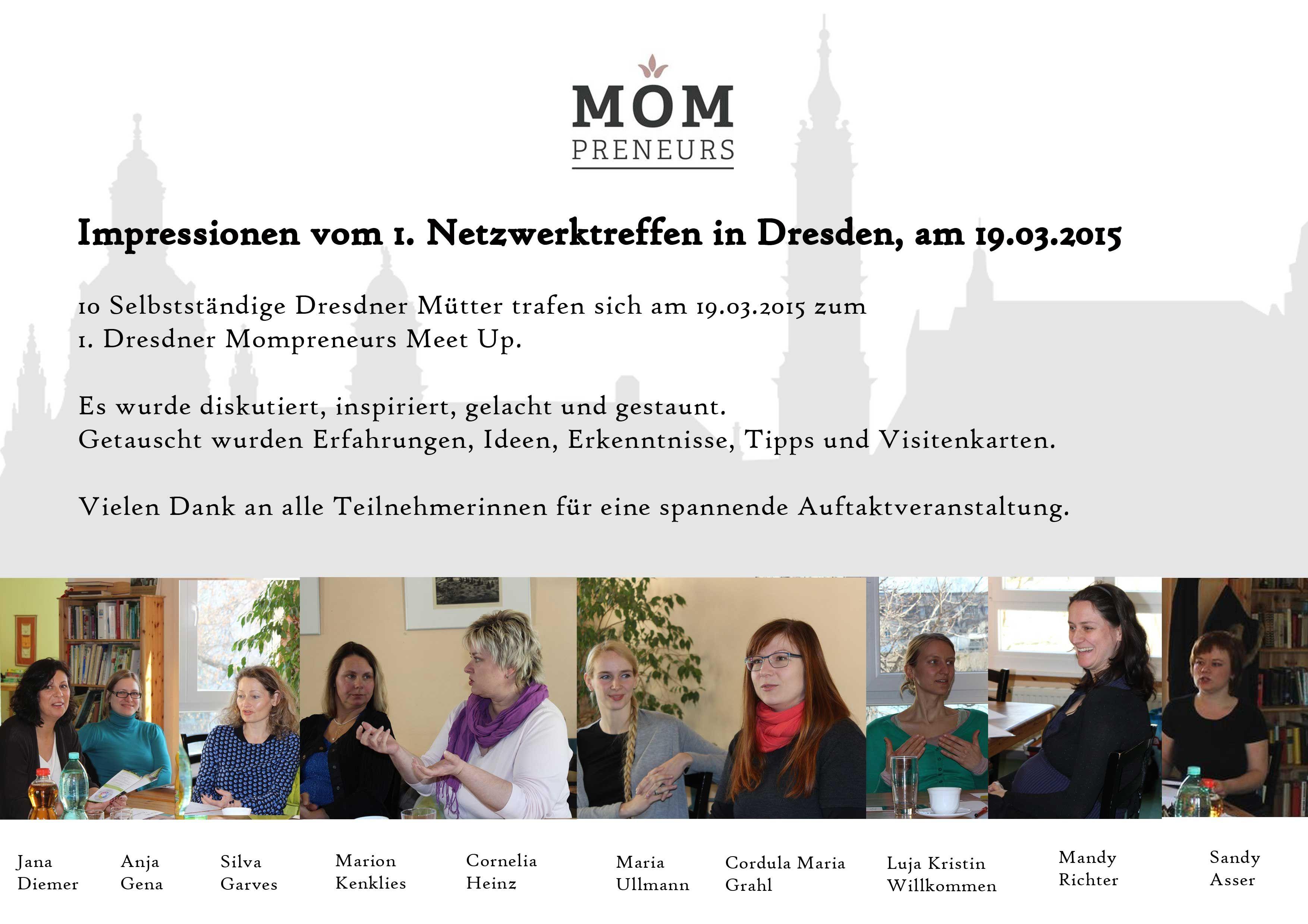 Mompreneurs Dresden feiern Jubiläum