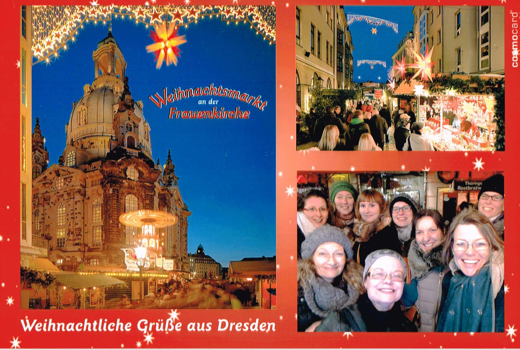 Weihnachtliche Schnitzeljagd für Dresdner Unternehmerinnen - mit Stadtspiel (Ver-) Führung und KonzeptFuchs - Agentur für Event.Marketing Dresden