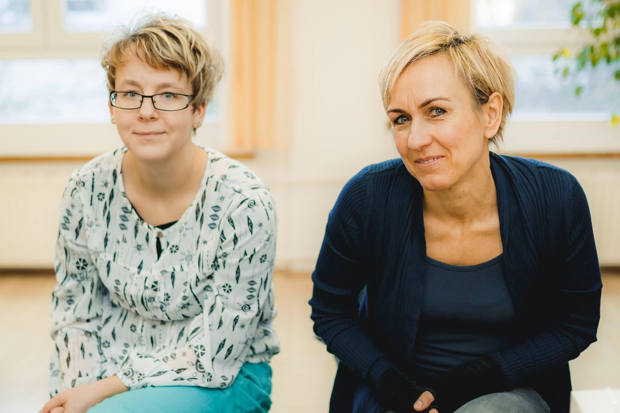 Julia Steglich und Katrin Ziebart sind Mompreneurs in Dresden.