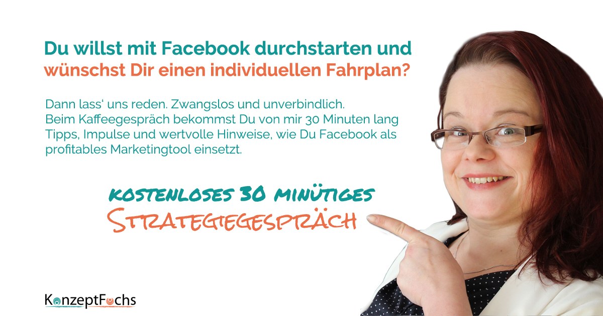 30 Minuten Facebook Marketing Strategie Gespräch