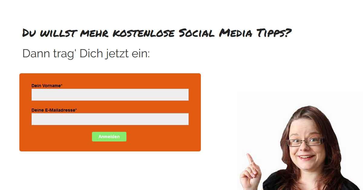 Kostenlose Social Media Tipps
