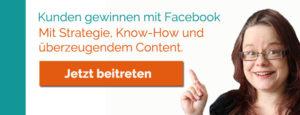 Kostenlose Facebook-Gruppe: Kunden gewinnen mit Facebook
