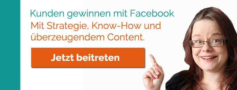 Kunden gewinnen mit Facebook | kostenlose Facebook-Gruppe